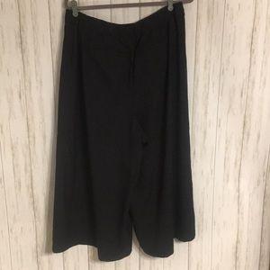 Eloquii Pants - Sz 14 Eloquii High Rise Wide Leg Crop Career Pants